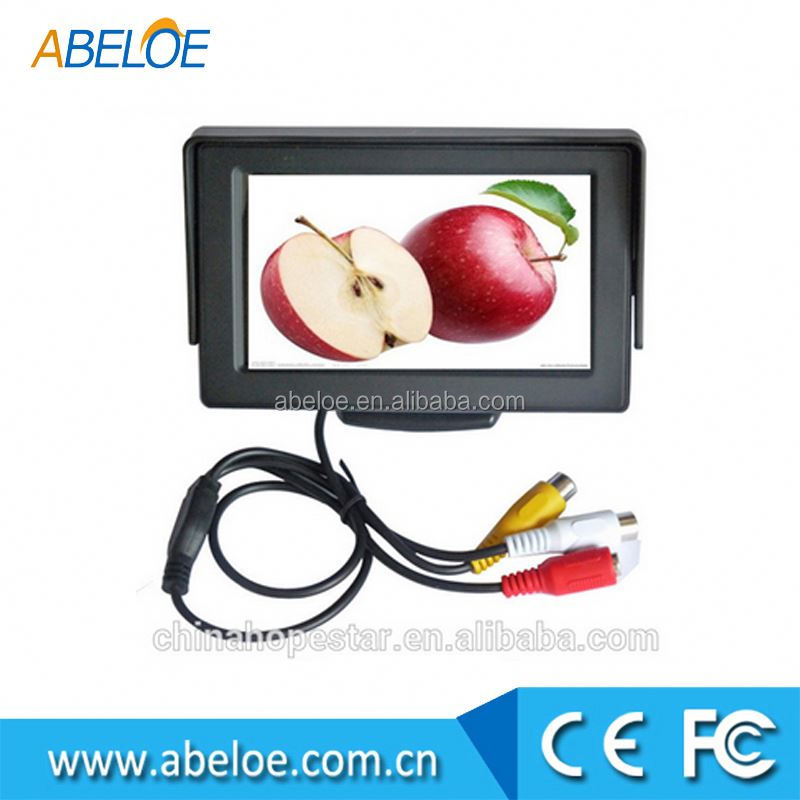 car monitor cheap , 4.3 inch monitor headrest for cars