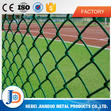 Different types of pvc coated wire mesh chain link fence prices