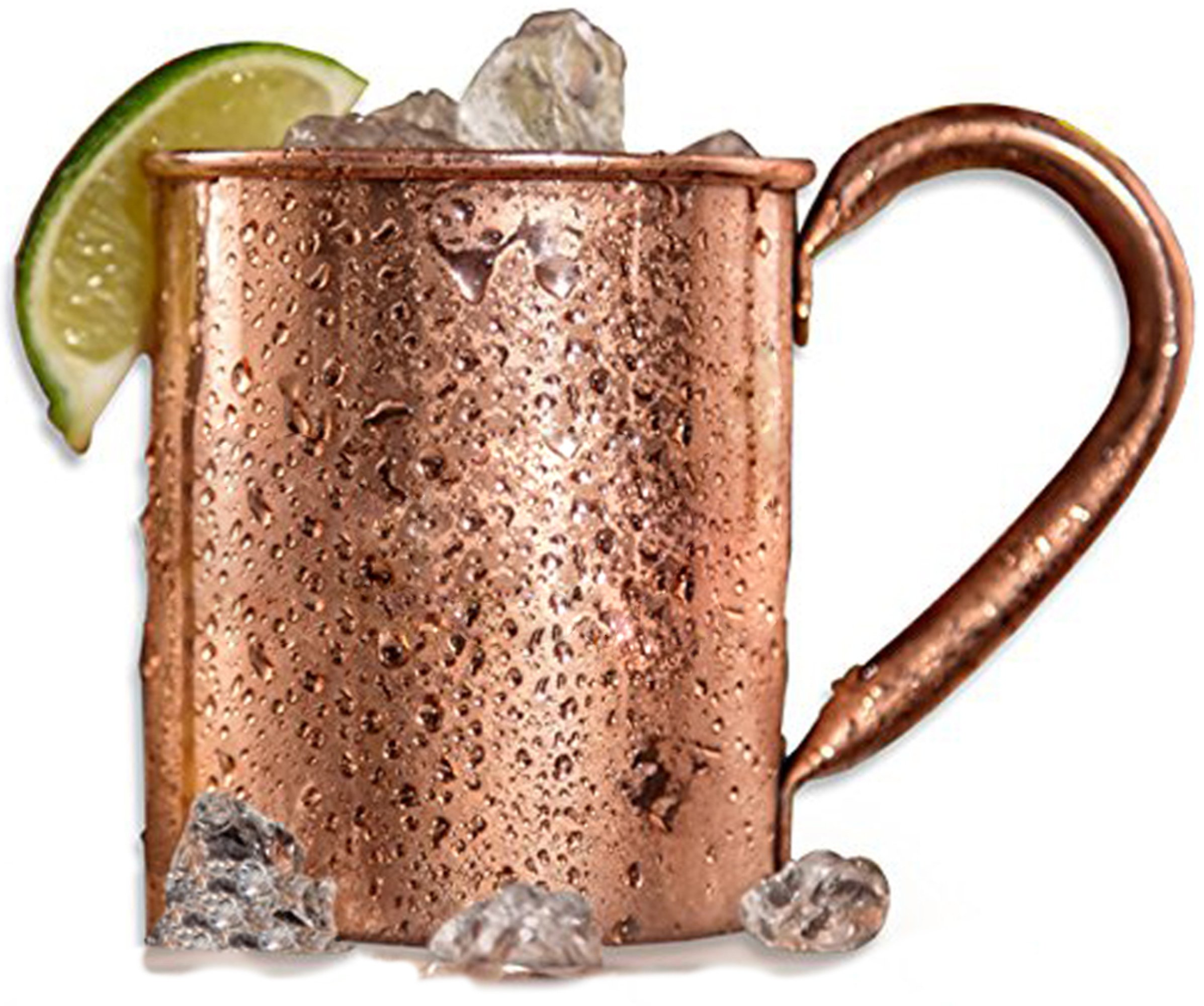 Copper Cup for Moscow Mule, 100% Pure Solid Copper Drinking Mug, Unlined, No Alloying, Nickel, Or Tin, 16 Oz, Handcrafted, Food Safe, Bonus E-Book With Moscow Mule Recipes