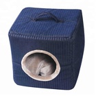 Textured couch dog house beds for small dogs soft pet bed
