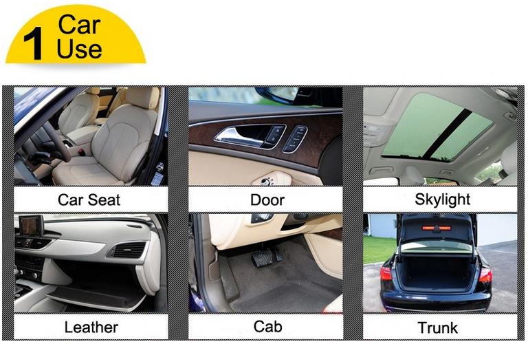 Auto Silicone Dashboard Polish Dust Cleaner For Car Wax