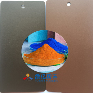 Sand Texture Matt Finish Electrostatic Sprayer Powder Coating for metal panel
