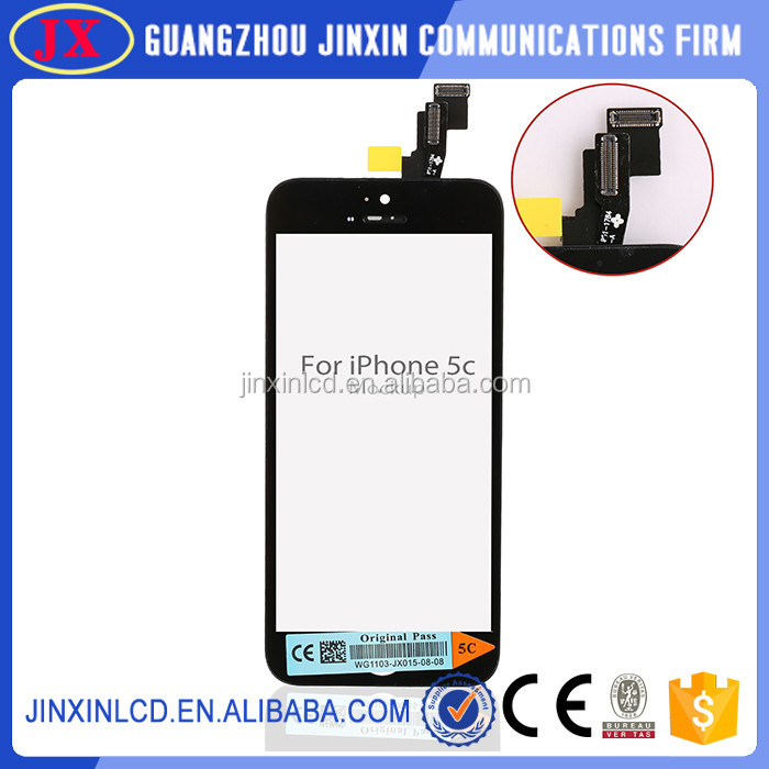 Wholesale alibaba new products,Original for iphone 5c lcd digitizer assembly,for iphone 5c lcd screen