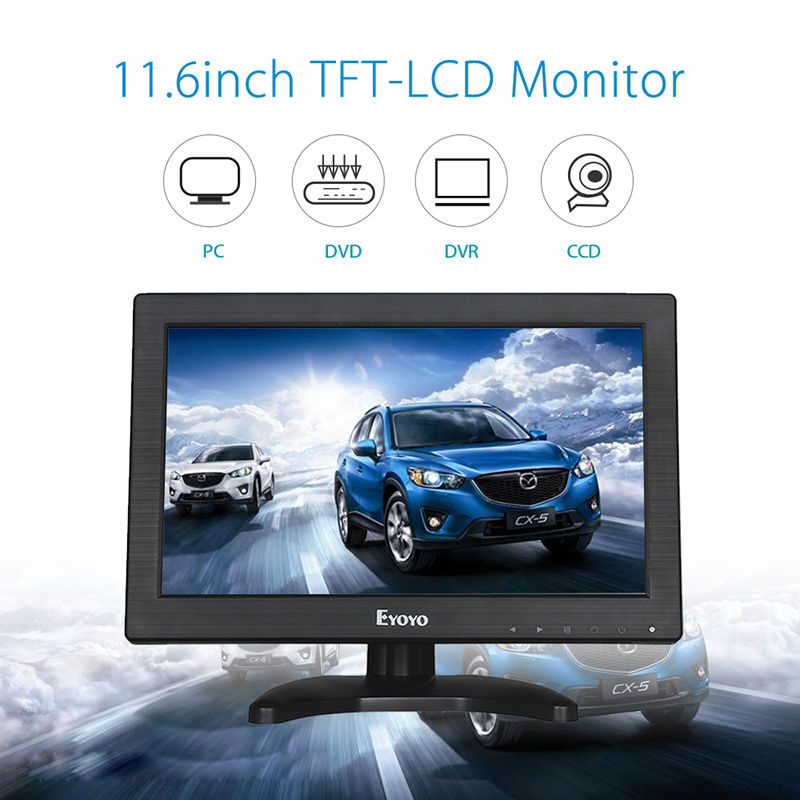 "2017 hot sale super 11.6"" LCD HD <strong>monitor</strong> 1366X768"