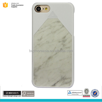 Most elite Carrara marble mobile phone case for iphone 7 plus