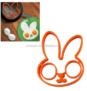 Silicone Omelette Pancake Poach Mould Ring Fried Egg Cooking Kitchen Tool