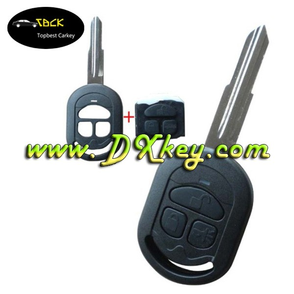 Car remote shell car key fob for Buick excelle key with Horn button Use for HRV