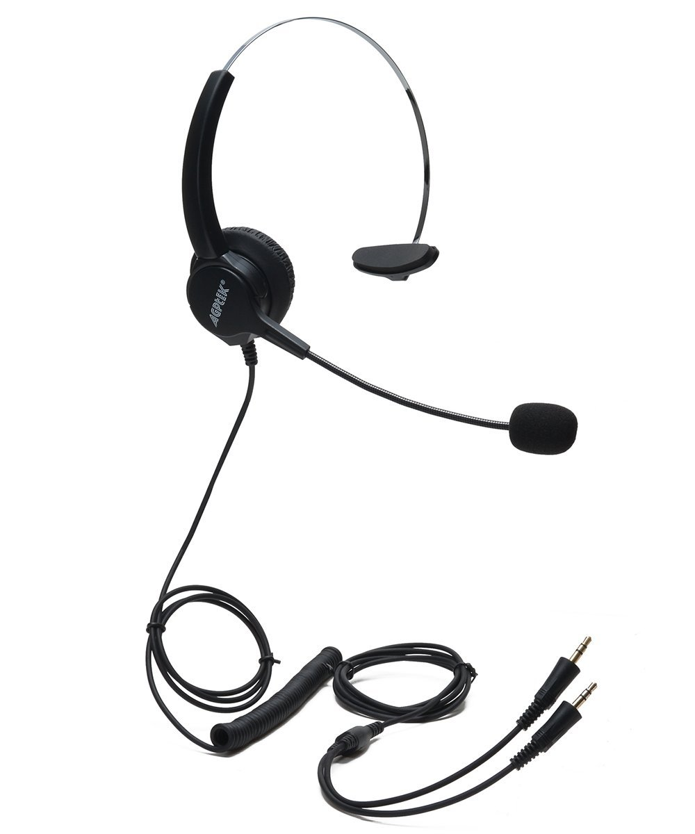 cheap office hands free headsets find office hands free headsets Home Office Phone with Headset Jack get quotations agptek hands free efficient call center noise cancelling monaural corded headsets headphones with mic and