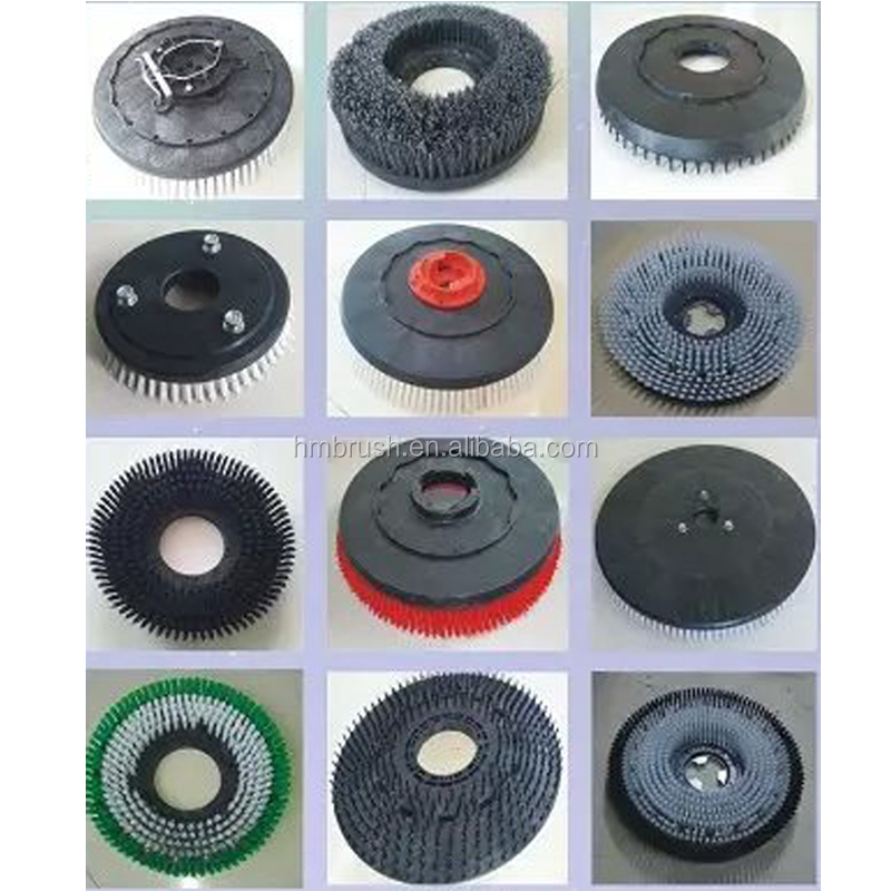 Floor Scrubber Parts Electric Rotating Cleaning Brushes