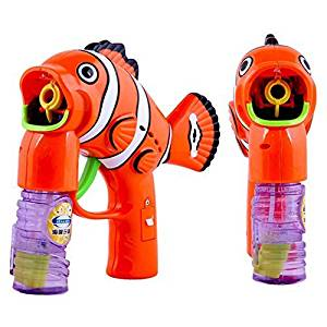 SweetToy Outdoor Toys Kids Bubble Gun Bubble Blower Child Toy Baby Gift Water Gun Colors May Vary