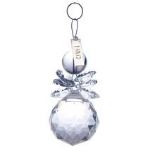 Kvalitní skleněný sněhulák jako dekorace, 2 ks