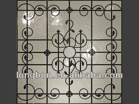 2015 Top Selling Sururity Wrouhgt Iron Window Grill Design Buy