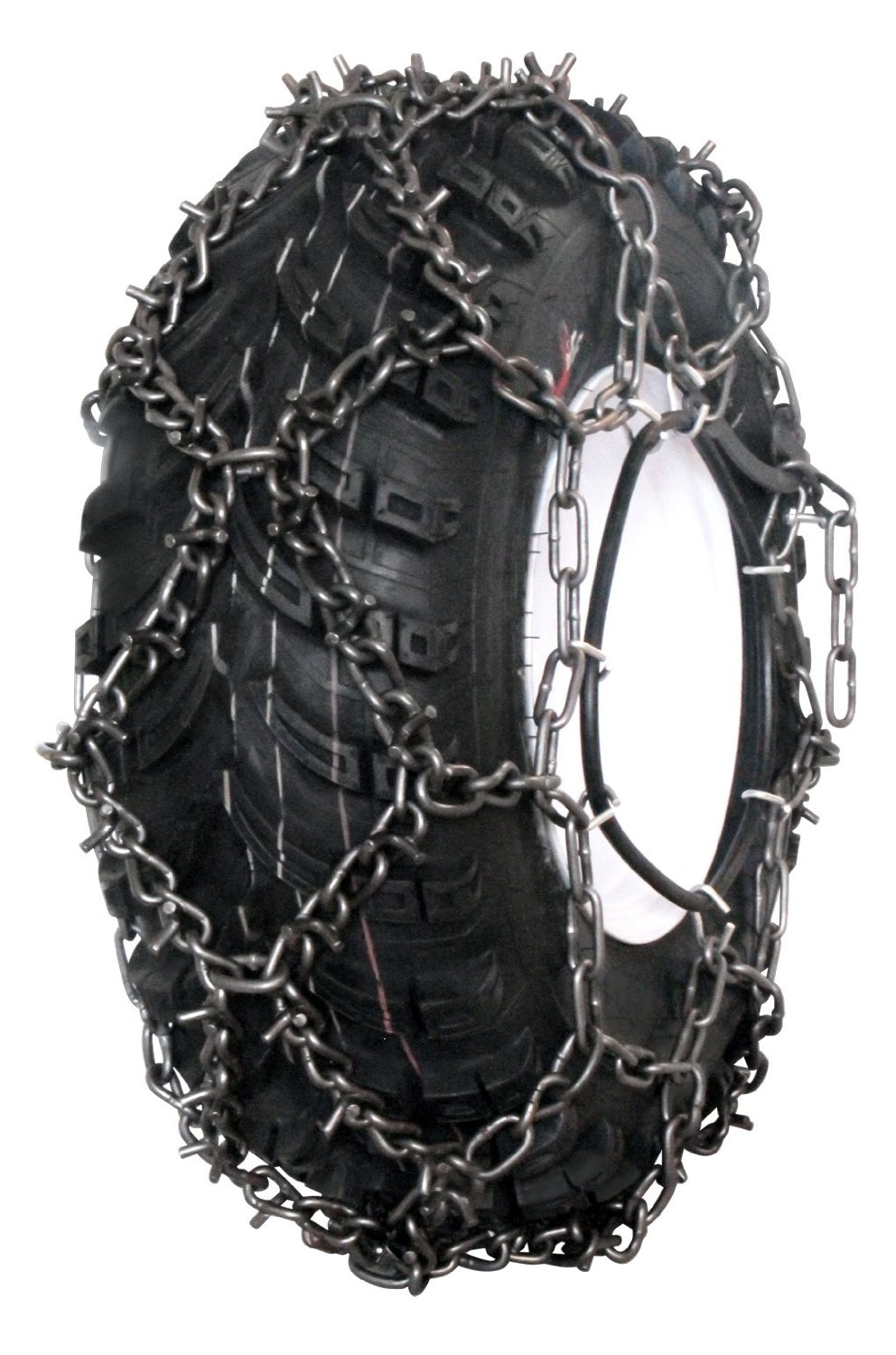 Grizzlar GTU-625 ATV 4 Link Ladder Alloy Tire Chains with Tensioners 24x9-11 24x10-11 24x10-12 25x10.00-12