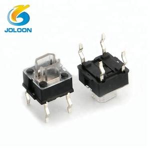 LED illuminated light 7 * 7 tact switch for digital product