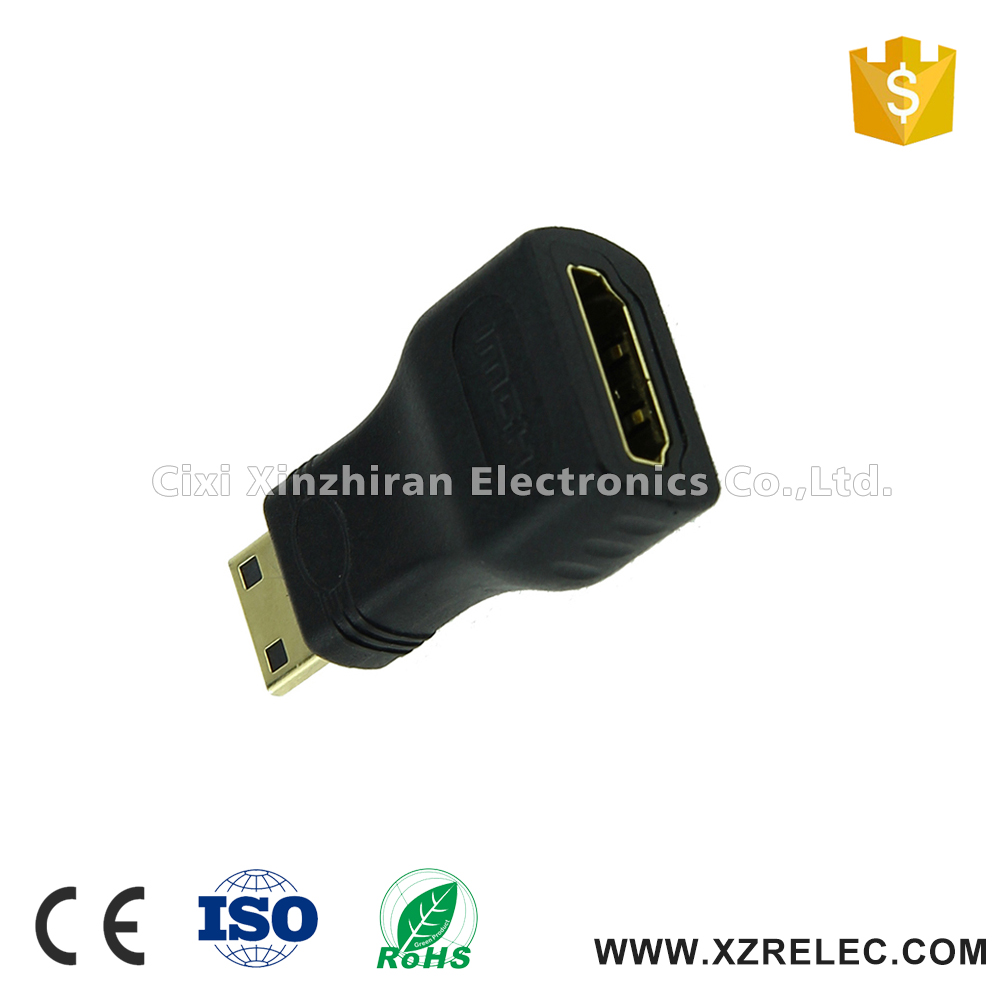 New For TV Mini HDMI Male to Female Hdmi Adapter Connector