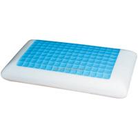 2017 new design cool gel classic mold pu visco elastic memory foam cool gel pillow