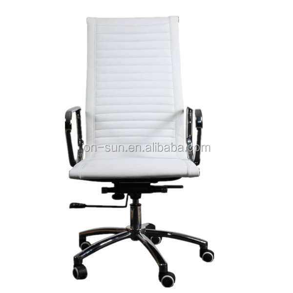 OEM new products leather ergonomic rotating office chair OS-3043v