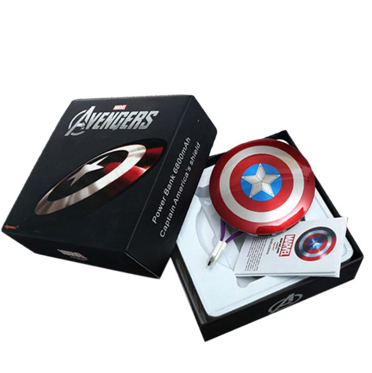 9f725cd0526021 Captain America Power Bank, Captain America Power Bank Suppliers and  Manufacturers at Alibaba.com