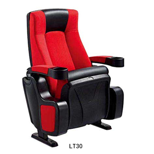 Best price funiture fabric Cheap cinema chair Folding theater seats for sale LT30