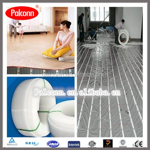 OEM Accept EVOH PE-RT Pipe and Fittings for Radiant heating