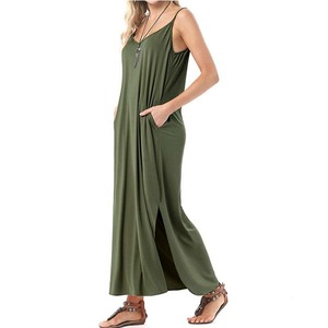 Manufacture direct sale xxl size women casual dress