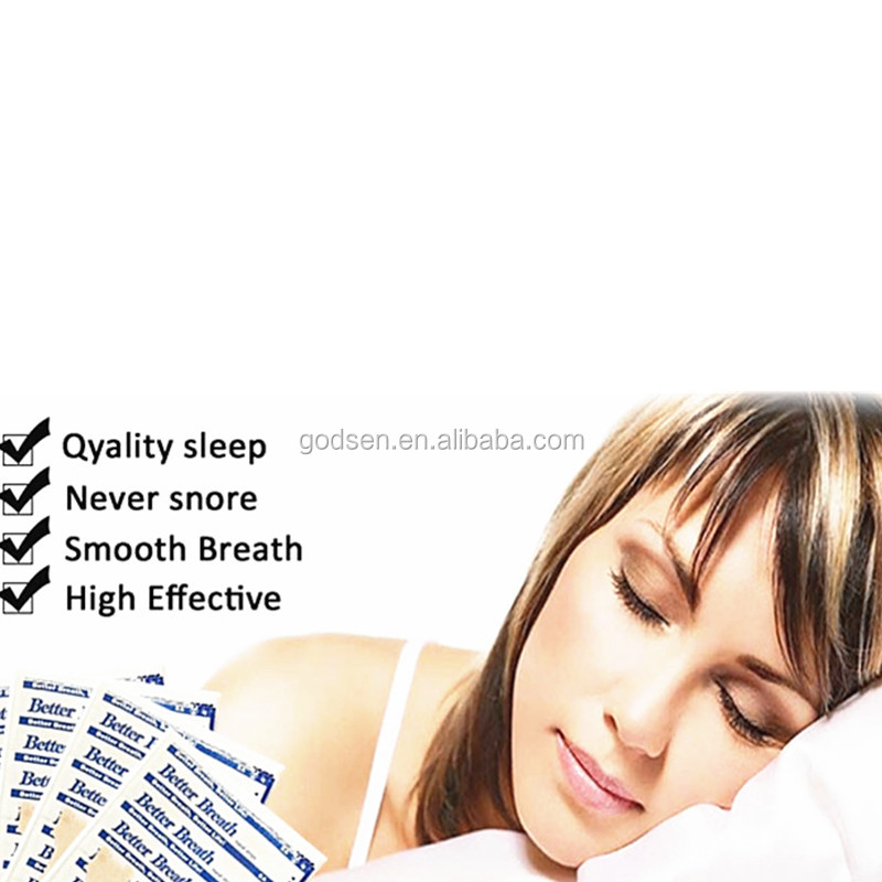 Chinese medical anti snore sleep breath nasal strips