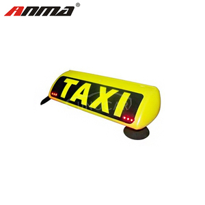 Wireless taxi led lamp taxi roof top light