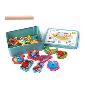Fishing Toys Fun Magnetic Puzzle