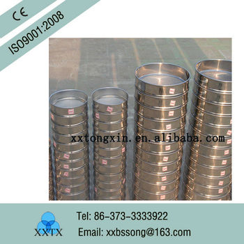 stainless steel testing screen sifter 300 micron mesh screen