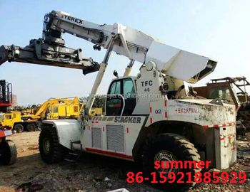 terex 45tons container handler reach stacker for sale terex tfc45 rh alibaba com Manual Hand Lift Stacker Hydraulic Pallet Stacker