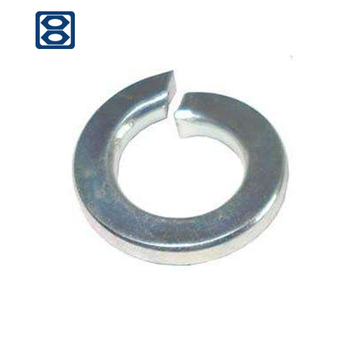 China manufacture carbon steel spring washer DIN127 grade 8.8
