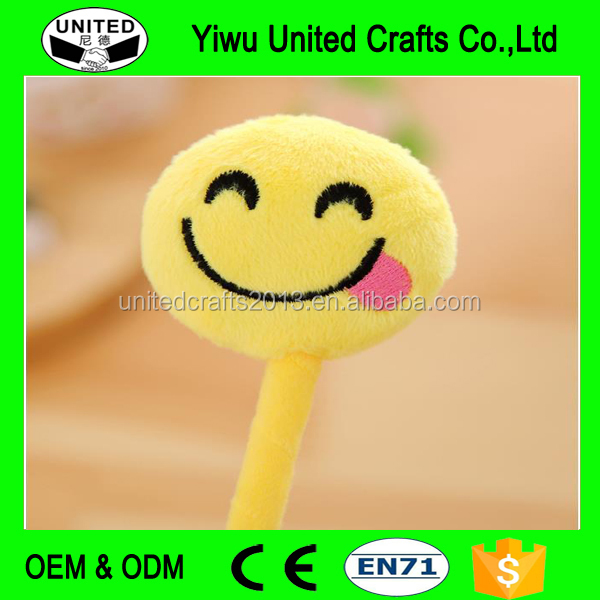 Pretty Cartoon Ball Point Pen Ballpoint Emoji Face Stationery School Office Pens