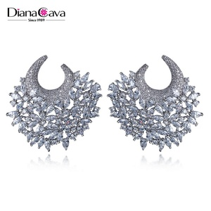Synthetic Diamond Stud Earrings Supplieranufacturers At Alibaba