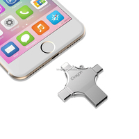 otg usb stick custom 32gb/16gb backup memory stick for iphone 7