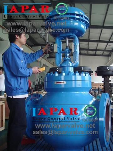 Pneumatic Diaphragm Control Valve for Steam Pressure Proportional control