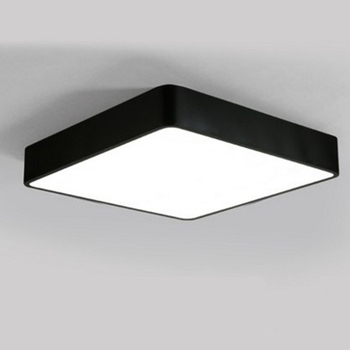 Led Oficina Minimalistalampara De Techo Moderna Sala De Estudio - Lamparas-minimalistas-de-techo