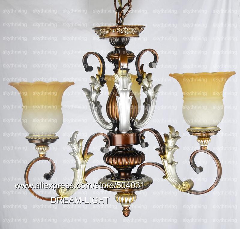 Euro Chandelier Lighting: Free Shiping Chandelier Lighting Fixtures/ European Style