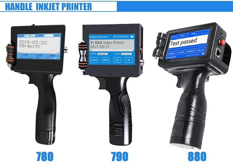 Goede Kwaliteit Portable Hand Held Printer Inkjet, Golfkarton Doos Inkjet Printer