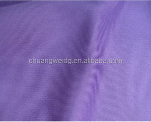 ponte roma fabric/spandex polyester tube fabric/2 way stretch knit fabric
