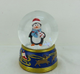 65mm Polyresin Christmas Penguin Christmas Snow Globe