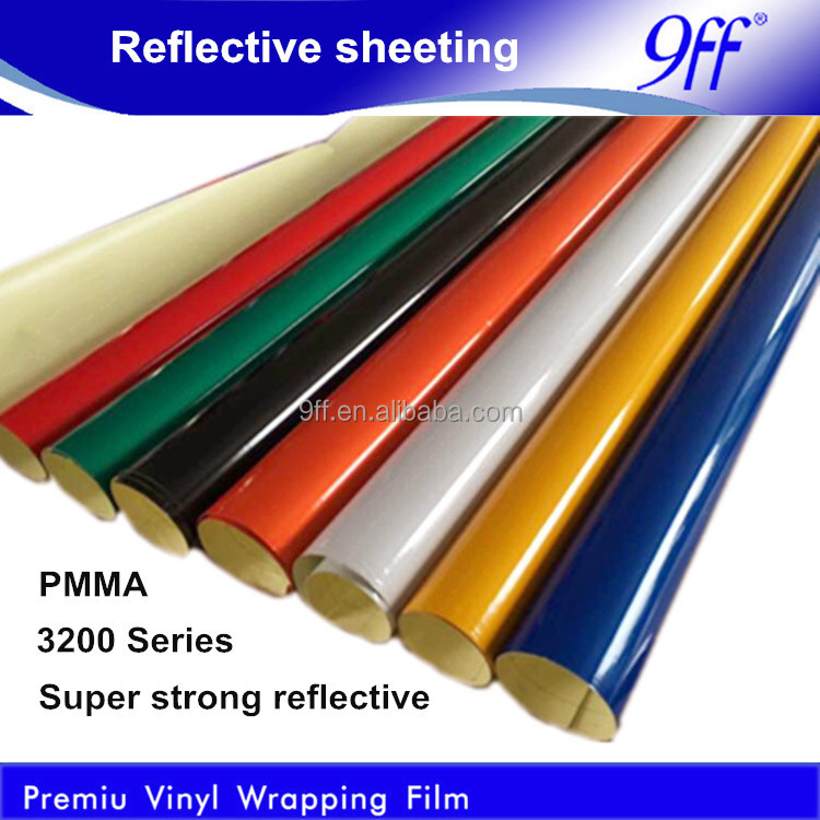 PMMA Material Reflective Film 1.24*45.7M Super Strong Reflect for Traffic Safety
