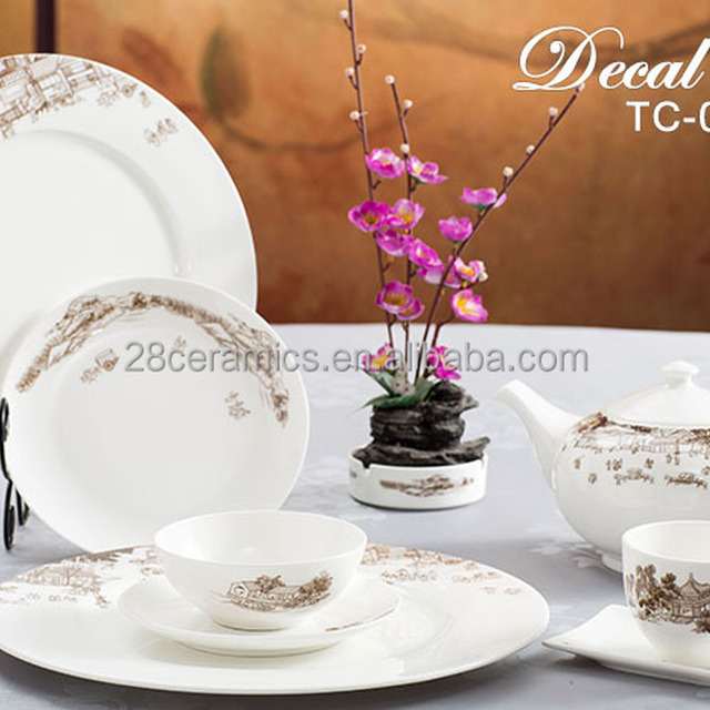 Hot Sale High End Dinnerware Japanese Antique Dishes Crockery Tableware Set For Wholesale & High End Dinnerware u0026 35 Best Luxury Tableware Images On Pinterest ...