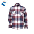 Wholesale 100% cotton plaid flannel latest shirts pattern for men