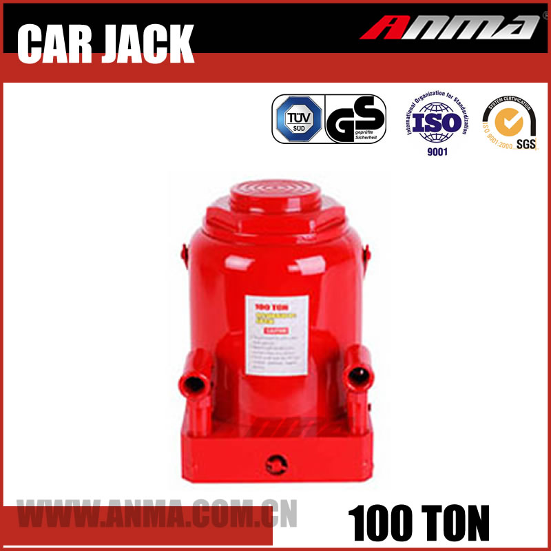 producer red Universal portable Manual mini automatic 100 ton electric hydraulic car jack AM10100