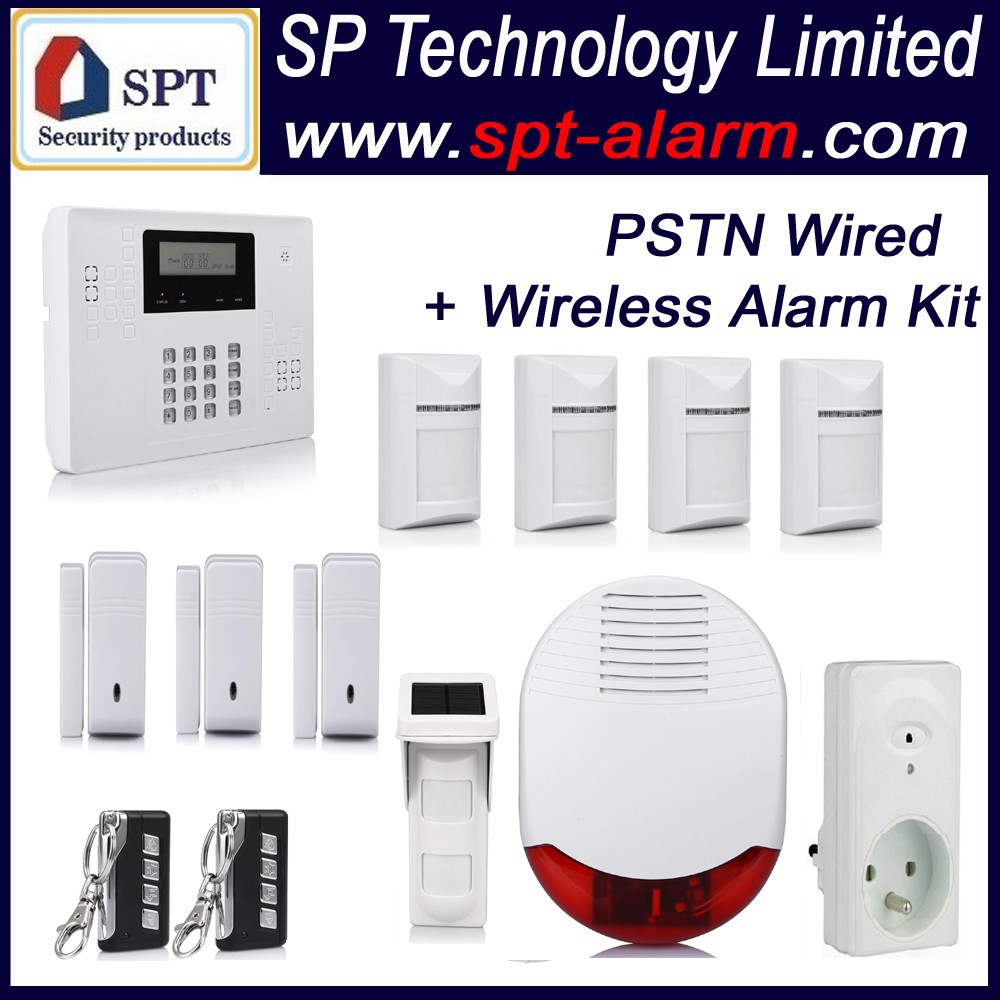 Easy Install 2015 Cp-21b L02 Auto Dial Home Security Alarm System ...