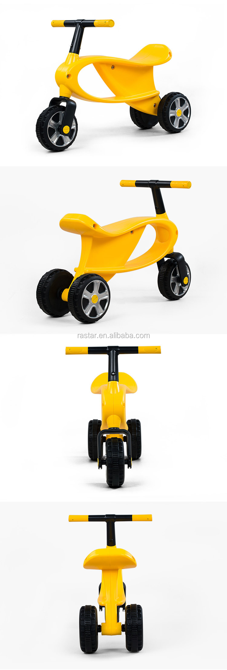 Rastar kids toys balance bicycle 3 wheel bike