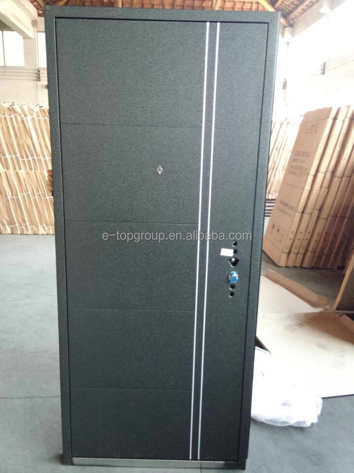 E-top Door China Supplier Ghana And Russia Design Black Hollow ...