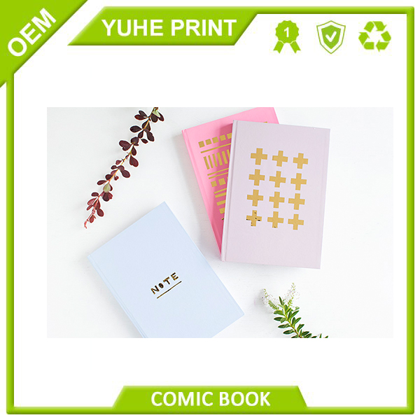 Direct factory ECO friendly China supplier CMYK printing reasonable price embossed hardcover paper notebook