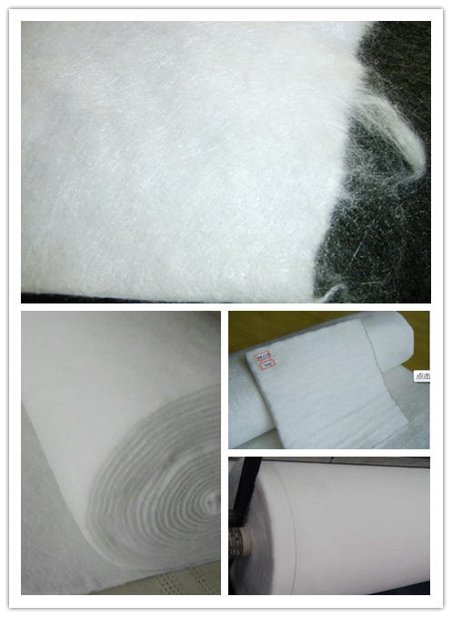 Polyester Continuous Filament Spunbond Needle Punched Nonwoven Geotextile
