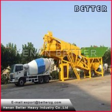 Highly durable China famous manufacture made full automatic small portable concrete batching plant on sale